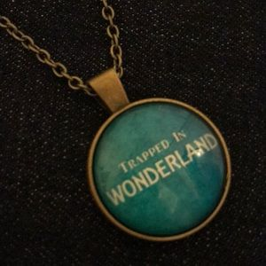 """Trapped In Wonderland"" Necklace"